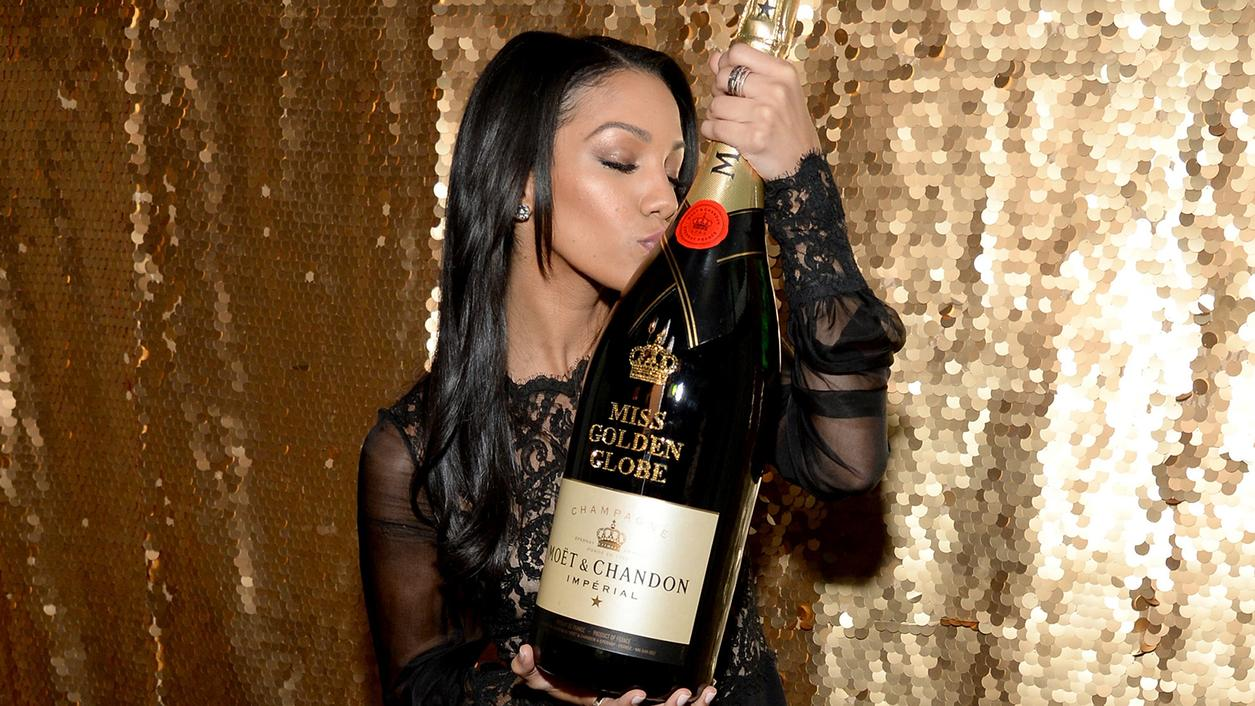 Moët & Chandon Pops Off Awards Season with Corinne Foxx