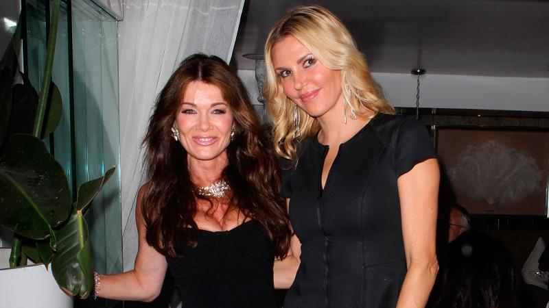 Lisa Vanderpump (left) and Brandi Glanville are the newest Real Housewives to create their own wines.