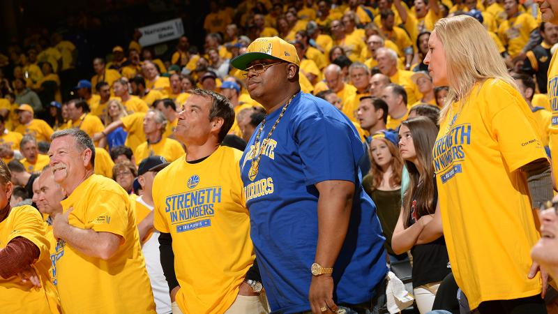 Rapper E-40 could be out quite a bit of his Mangoscato should the Warriors win, but he'll be happy to part with it.