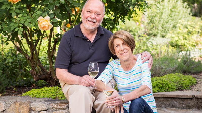 At Home With Doug and Janet Fletcher