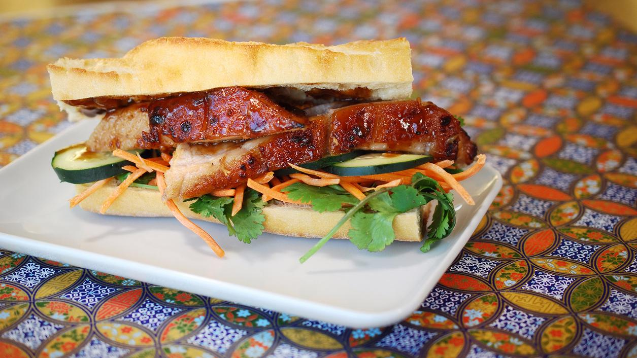 8 & $20: Pork Belly Bánh Mì and an Aromatic White
