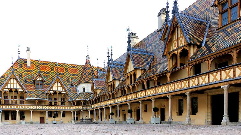 The Hospices de Beaune was created in the 15th century with the blessing of the Duke of Burgundy, Philip the Good.