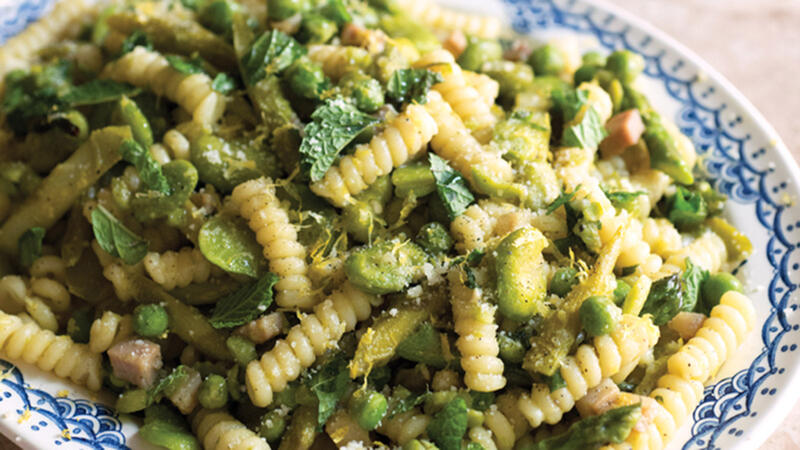 Mother's Day Pasta Primavera From a Mother-Daughter Cooking Duo