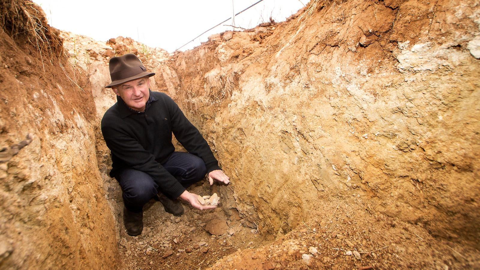 Jim Barry Wines' Peter Barry has found Australia's warm climate suitable to Assyrtiko.