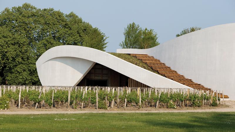 At its modernist winery, Cheval-Blanc produced what could potentially be the best Bordeaux of 2017.