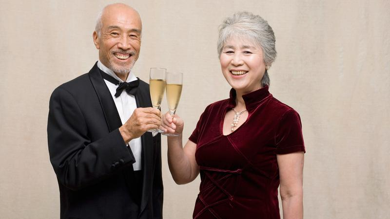Numerous studies have found that red wine and Champagne can help neural functions as people age.