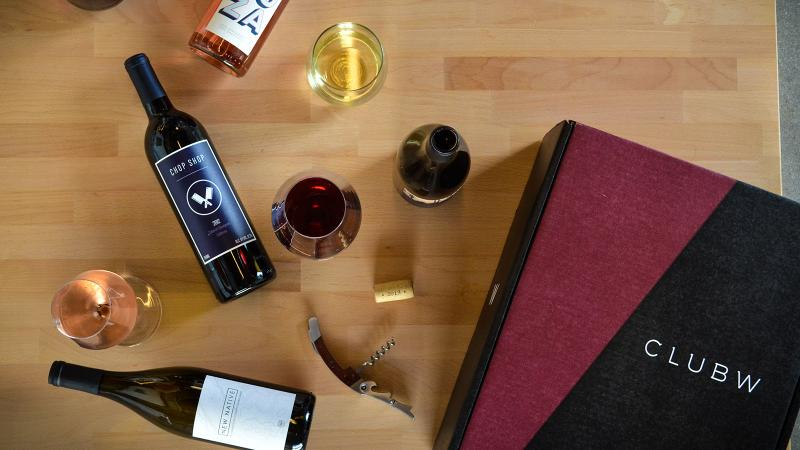 Club W uses feedback from members to personalize its wine recommendations.