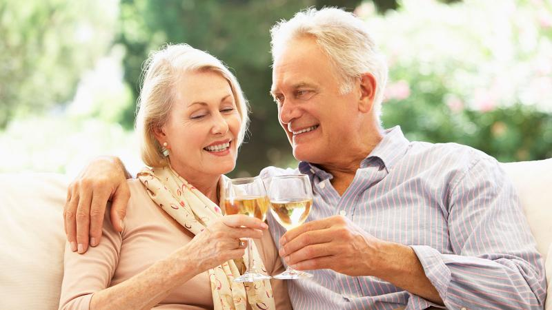 Health Watch: Can a Glass of Wine Help You Age with Grace?