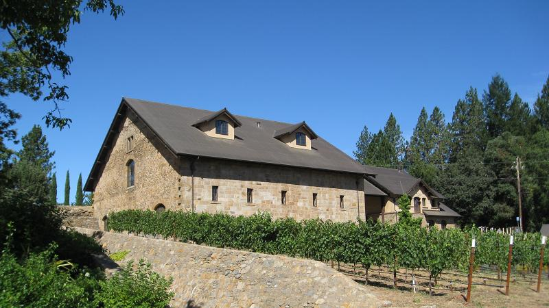 Ladera's winery building dates back to 1886, one of Napa's oldest.