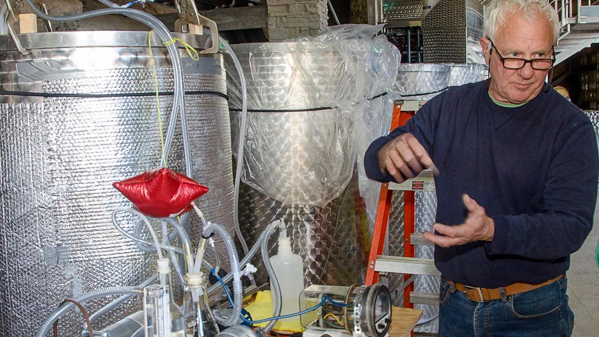 Amateur Winemaker Develops Solution For Making Wine Smell Even Better