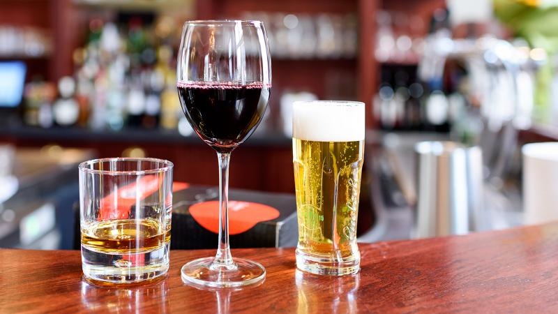 Scientists compared diabetes rates and found wine drinkers were at lower risk.