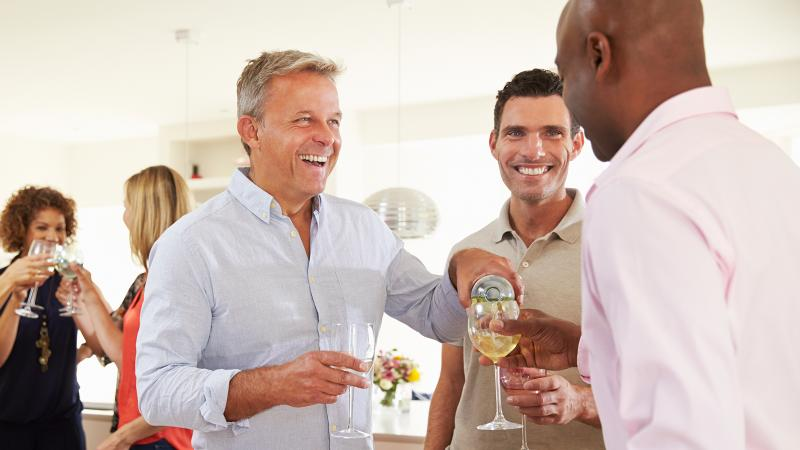 Light Drinking May Lower Risk of Prostate Cancer, Study Finds