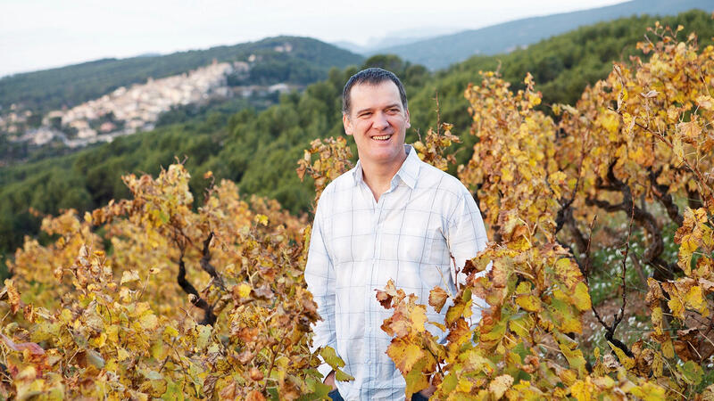 Daniel Ravier, winemaker at Domaine Tempier, believes Domaine de la Laidière has a promising terroir.