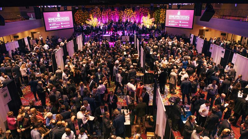 A crowd of 2,400 turned out to sample highly rated wines from throughout Europe, the United States, South America, Australia, New Zealand, South Africa and other countries.