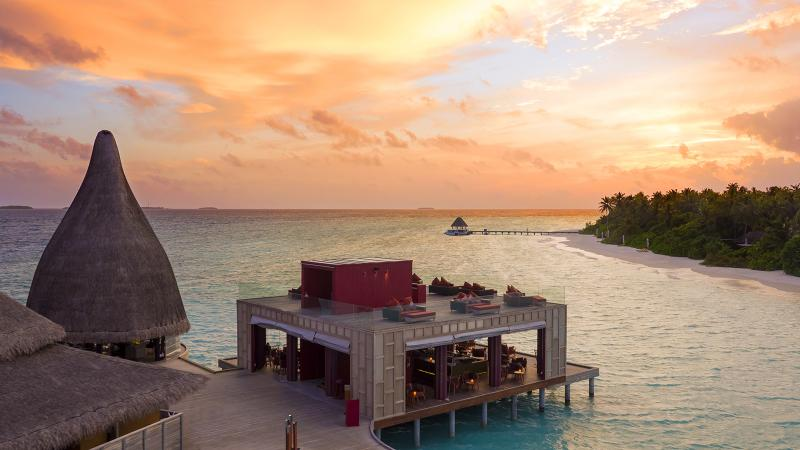 Escape to a food and wine oasis at Sea.Fire.Salt.Sky in the Maldives.