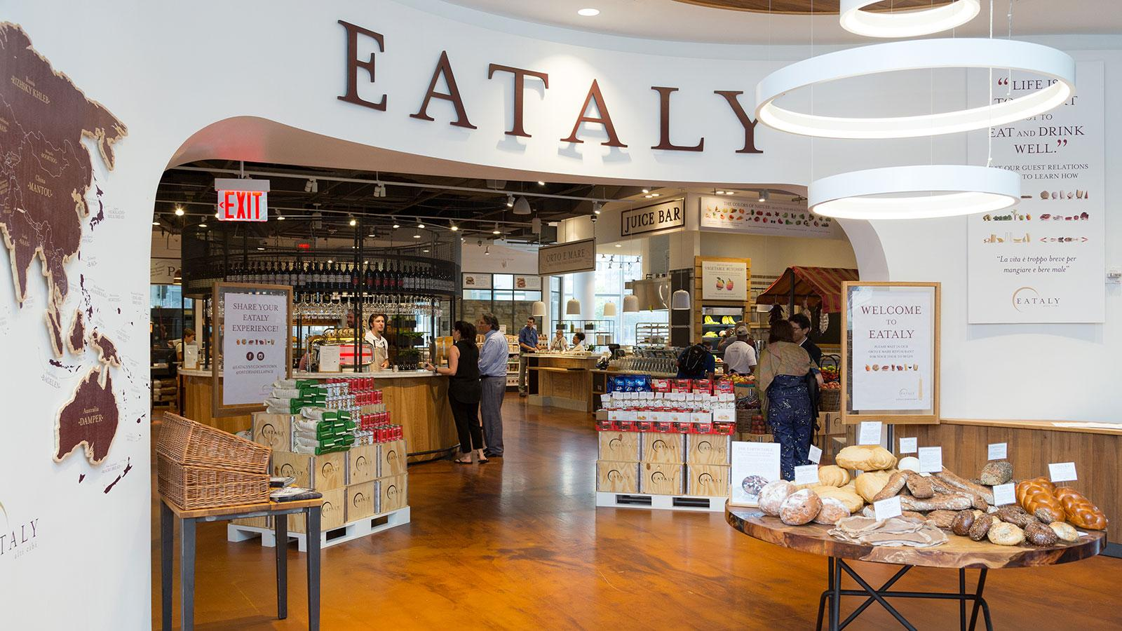 Turning Tables: Eataly Opens Second New York Location Downtown ...