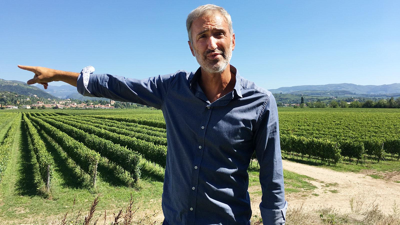Mariano Buglioni's life changed when his family bought a farmhouse with a Valpolicella vineyard.