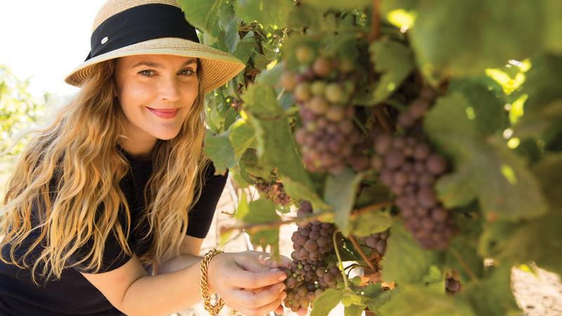 Unfiltered New Wines For Drew Barrymore Christie Brinkley