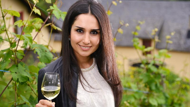Syria native Ninorta Bahno is the new Wine Queen of Germany's Mosel region.