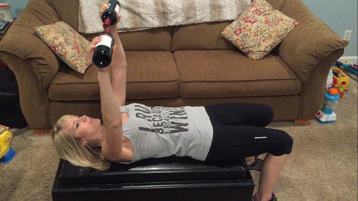 New Wine Workout: Pick Up a Bottle and Get Fit