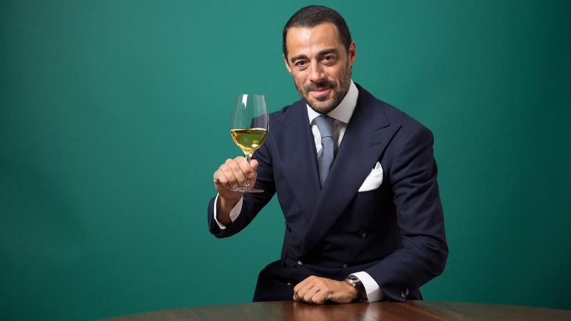 Vicente Dalmau Cebrián-Sagarriga was only 14 when the grapes were picked for the white wine he poured at the tasting.