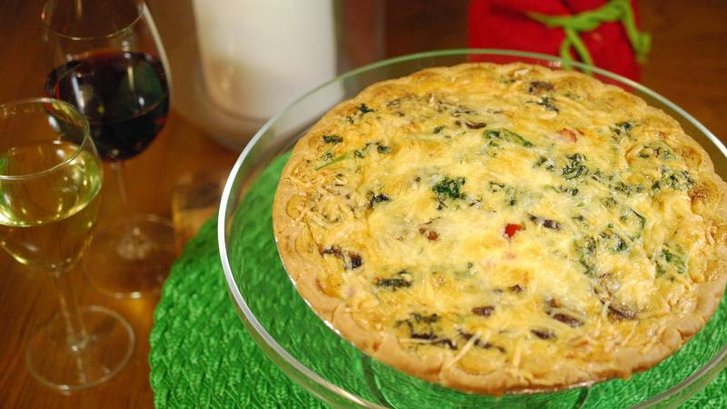 Bring everyone back to the table with this silky quiche.