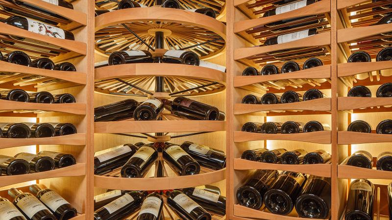 A wine cellar can be anything from a small cooler to a closet with a cooling unit to an ornate custom-designed space that doubles as a room for entertaining.