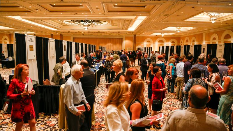 Attendees at the 2017 Wine Spectator Grand Tour were treated to 244 outstanding wines.