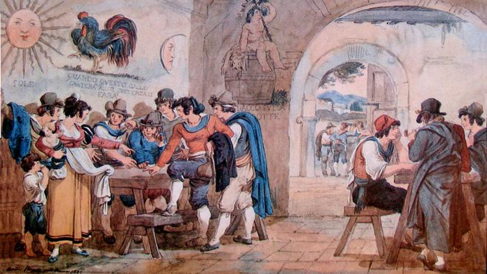 The Weird and Wild Wine-Drinking Games of History