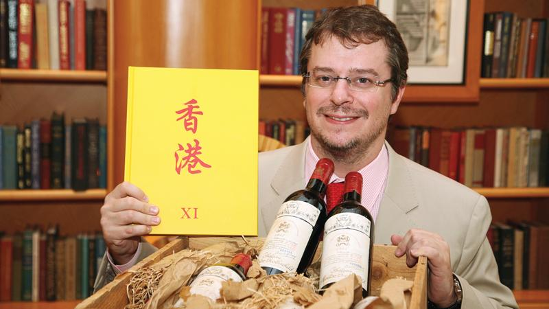 John Kapon has built one of the top auction houses in Hong Kong, where the bottle in question was sold.