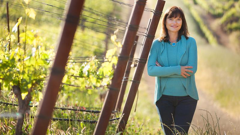 Barbara Banke has been a leading figure in the California wine industry for decades.