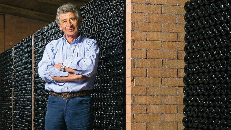 Domenico Clerico was known for his kind, happy personality and his dedication to his wines.