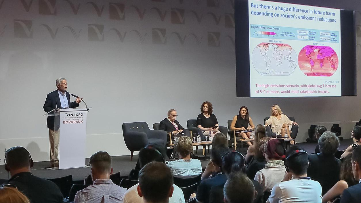 Wine Industry Leaders Take on Climate Change at Vinexpo