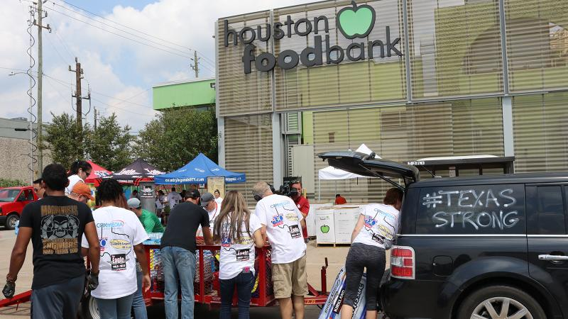 Union Square Hospitality Group's charity push will benefit the Houston Food Bank.