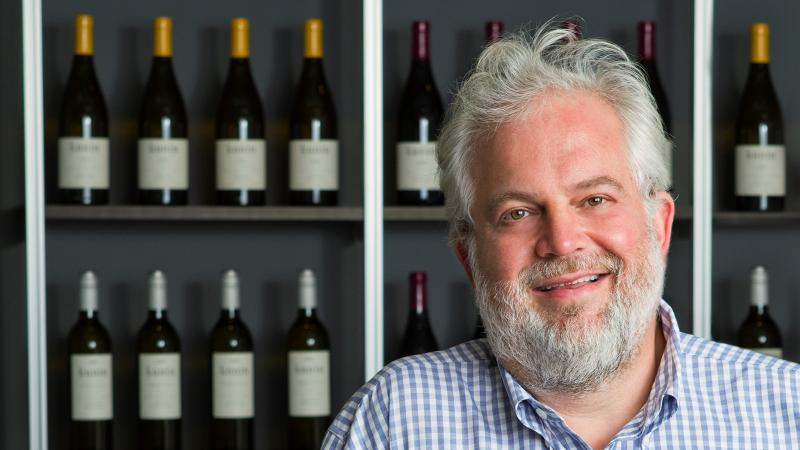 Seth Kunin moved from restaurants to winemaking, and became a mentor to Santa Barbara vintners.