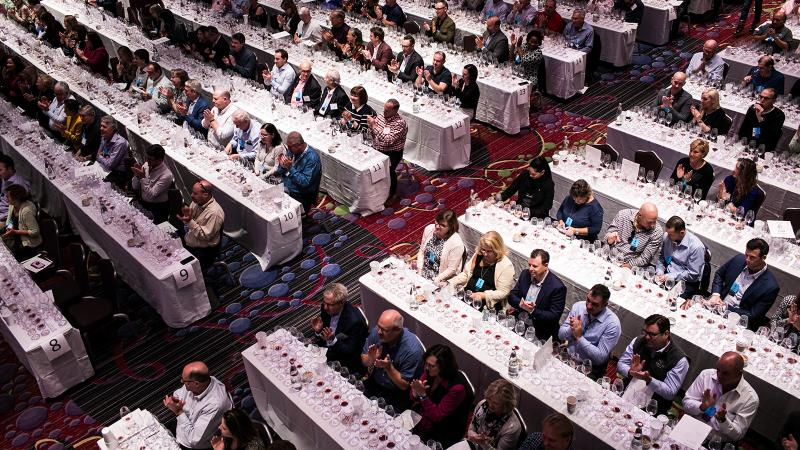 Hundreds of wine lovers packed the seminars at the 37th Wine Experience in New York.