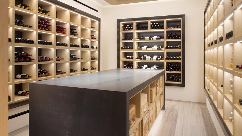 With rare access to the minds behind Element 47's wine list, the Crowns expanded their cellar to 2,000 bottles.