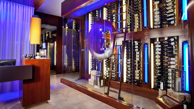 Ocean Prime has mastered the art of pairing seafood and wine.