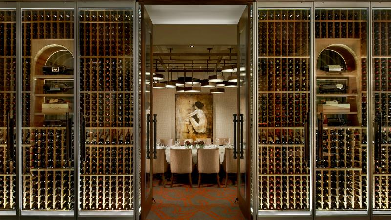Choose from over 1,600 wine selections at Del Frisco's Double Eagle Steak House in Chicago.