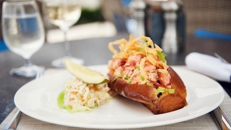 Swap out mayonnaise for crème fraîche and pair this summer classic with a crisp Sancerre.