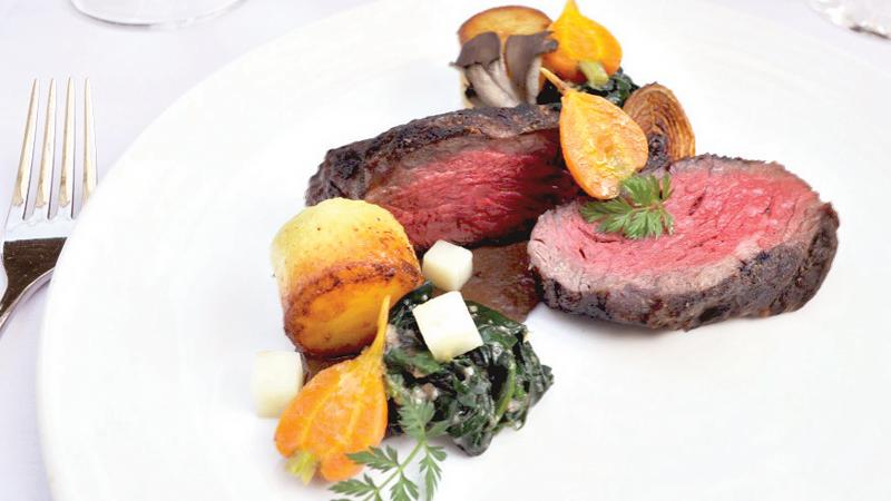 Atlas Steak with Fondant Potatoes