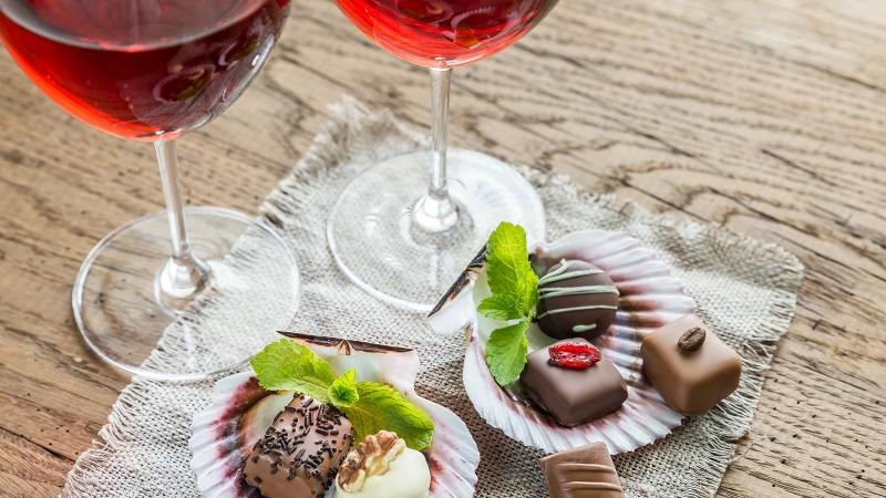 For candy, sommeliers reach for everything from California Pinot to Greek Vin Santo.