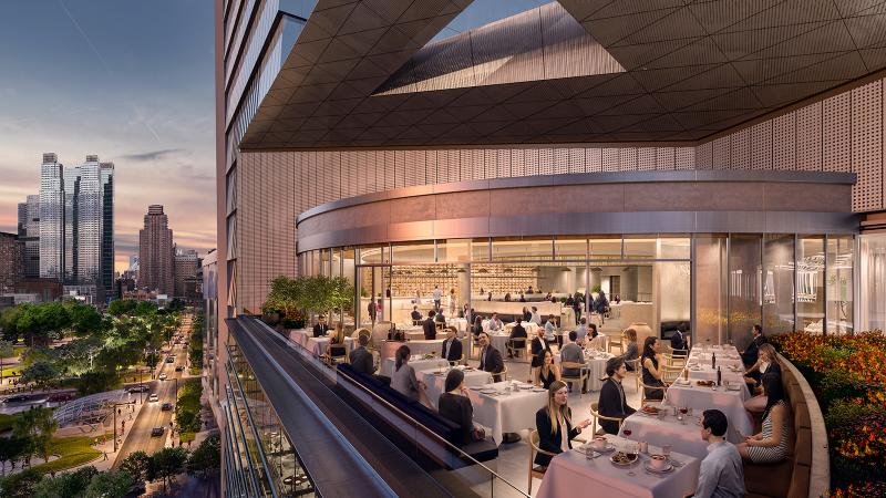 New York's Hudson Yards project, including chef Costas Spiliadis' Estiatorio Milos, delivered the most-read Turning Tables of 2017.