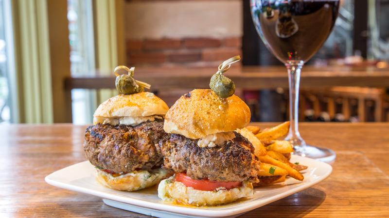 City Winery will offer a lamb slider with a Napa Cabernet Franc.