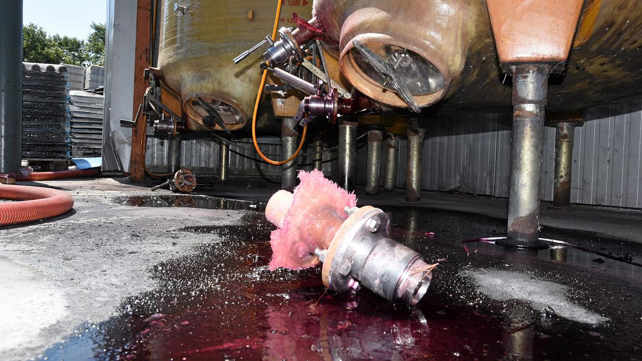 French Vandals Smash More Wineries, Must Be a Day Ending in