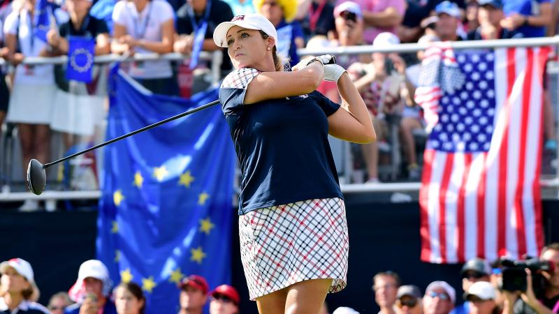 California winemaker Cristie Kerr <i>also</i> crushes at the LPGA's Solheim Cup.