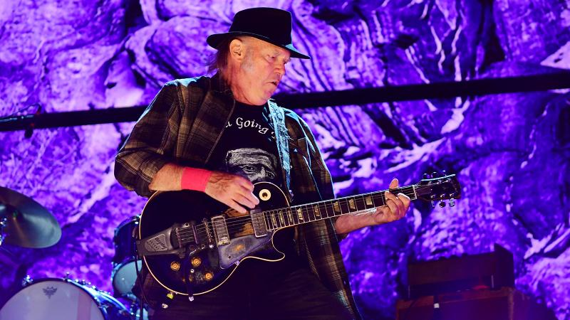 Bonterra Wine Rocks in the Free World at Farm Aid with Neil Young, Dave Matthews