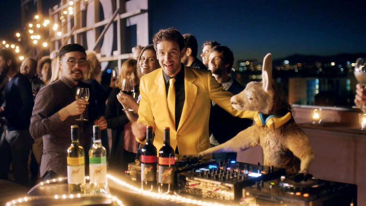 Yellow Tail's Party Roo Blitzes Super Bowl Airwaves