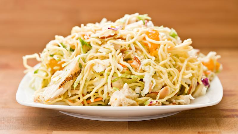8 & $20: Asian Chicken Salad with a Crisp White