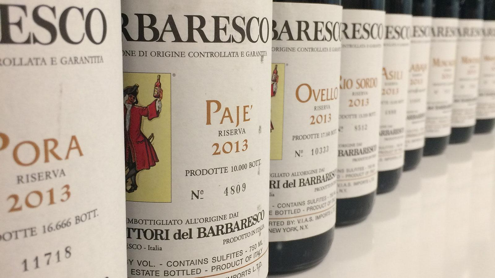 Produttori del Barbaresco has just released its nine single-vineyard cuvées from the 2013 vintage.
